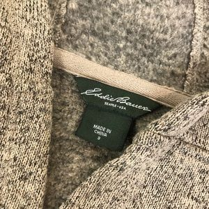 Sweaters - Eddie Bauer hooded pullover size sm